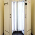 Balneophototherapie-Bestrahlungskabine